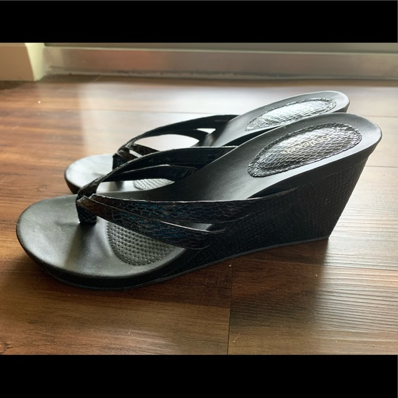 Style & Co Shoes - Black Style & Co Wedges